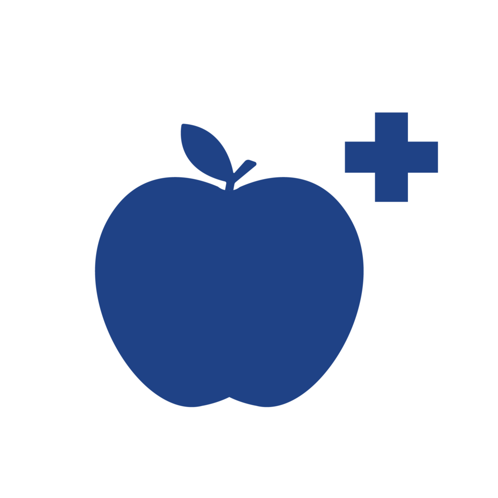 apple with plus sign tute extra